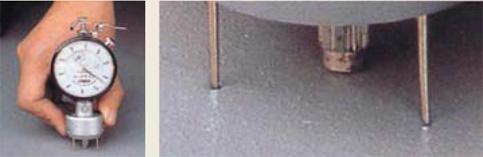 測定の度に防水層に穴が…